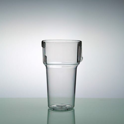 Beer glass Clickup PC 25 cl