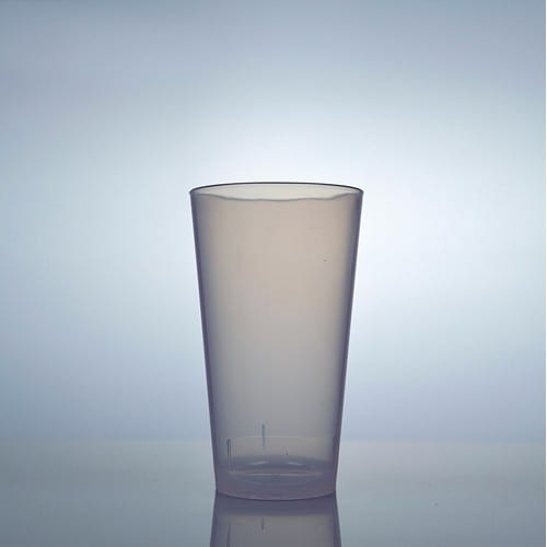 Disco soda and beer glass PP 25 cl
