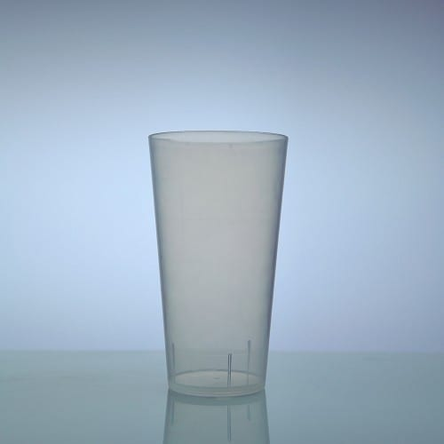 House Polypropylene beer glas 30 cl