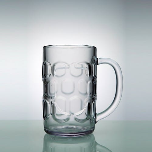 German beer mug Metal 40cl
